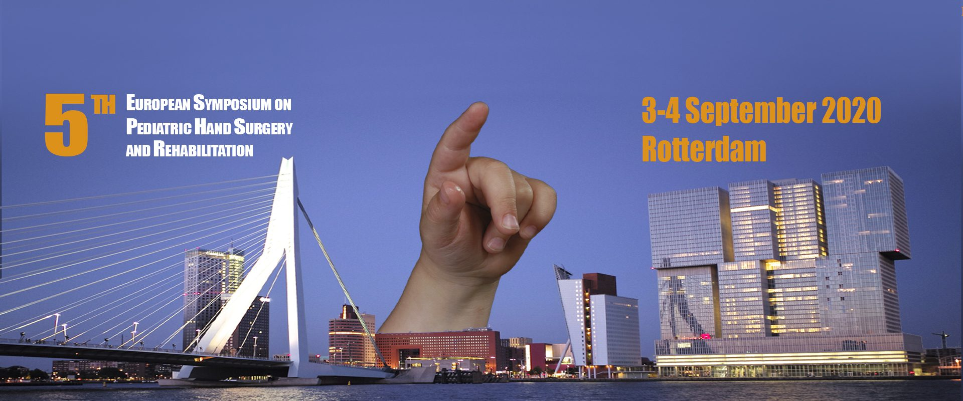 5th European symposium on pediatric hand surgery and rehabilitation